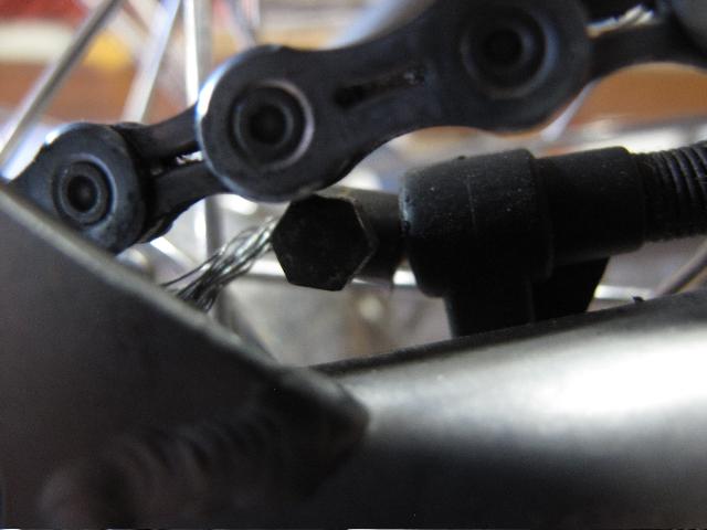Commande de dérailleur pour 3 pignons sur une roue libre [Brompton 9 vitesses] •  213433IMG71171965
