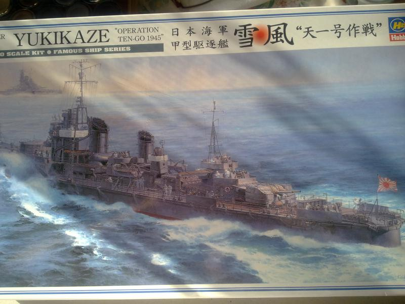 destroyer Yukikaze par Pascal 94 21395016102010857