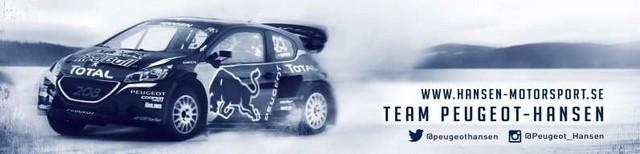 Rallycross - Les PEUGEOT 208 WRX dans l'arène de Barcelone. Olé !! 216440teampeugeothansen