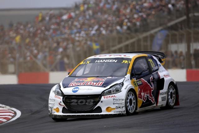 Le Team Peugeot Hansen vice-champion du monde de Rallycross* !!! 2181635a07562f250fe