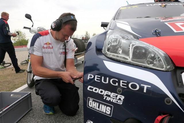 Rallycross - 8ème podium pour la PEUGEOT 208 WRX en WorldRX / Kevin Hansen Champion d'Europe ! 218204wrx201609170045