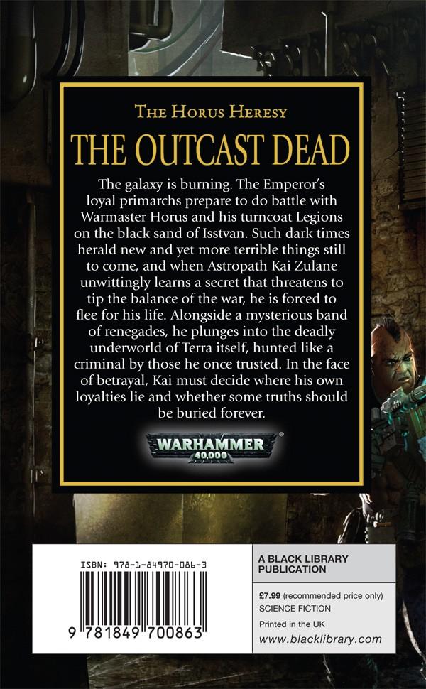 [Horus Heresy] The Outcast Dead de Graham McNeill 219661OutcastDeadbackcover