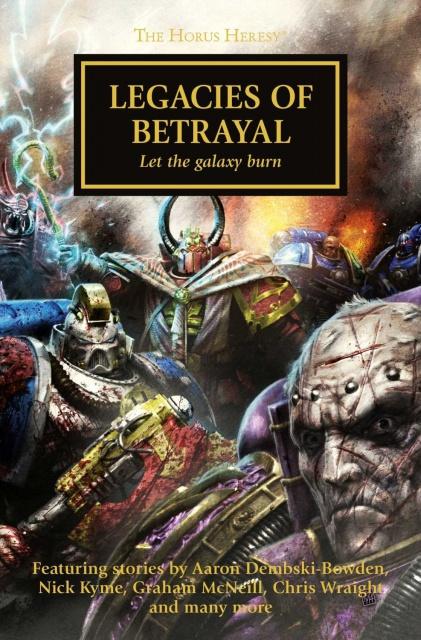 [Horus Heresy] Legacies of Betrayal - Anthologie 21990781ay88no3iLSL1500