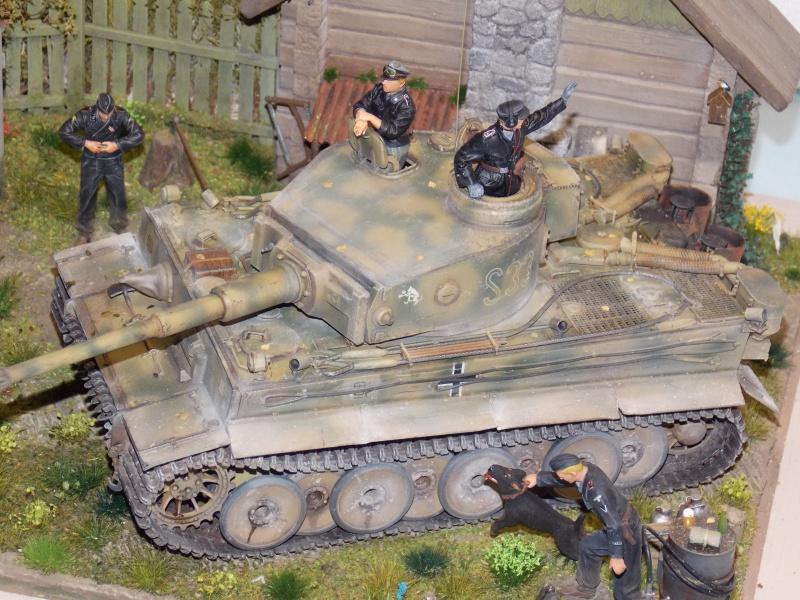 TIGRE S33  avant la bataille de Koursk juillet 43 (Dragon 1/35 dio DIODUMP) - Page 9 220117DSCN4764
