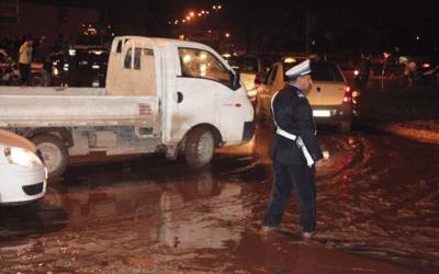 أمطار طوفانية «تضرب» مراكش وتعيد شبح فاجعة «أوريكا» 222277innondation2