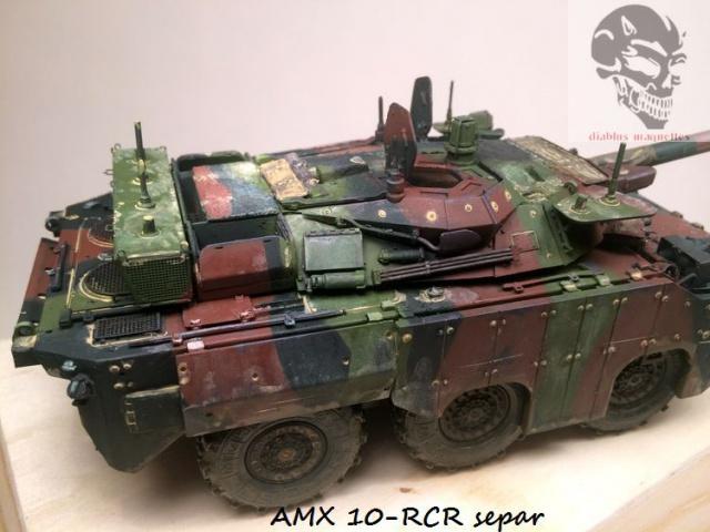 AMX 10 RCR SEPAR maquette Tiger Model 1/35 - Page 2 225529IMG3813