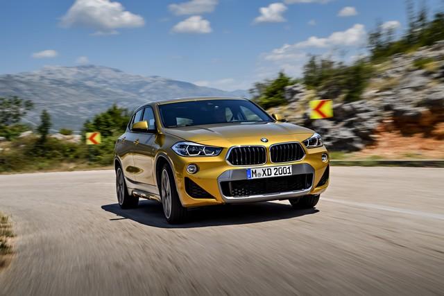 La nouvelle BMW X2 Silhouette élégante, dynamique exceptionnelle 228677P90278979highResthebrandnewbmwx2
