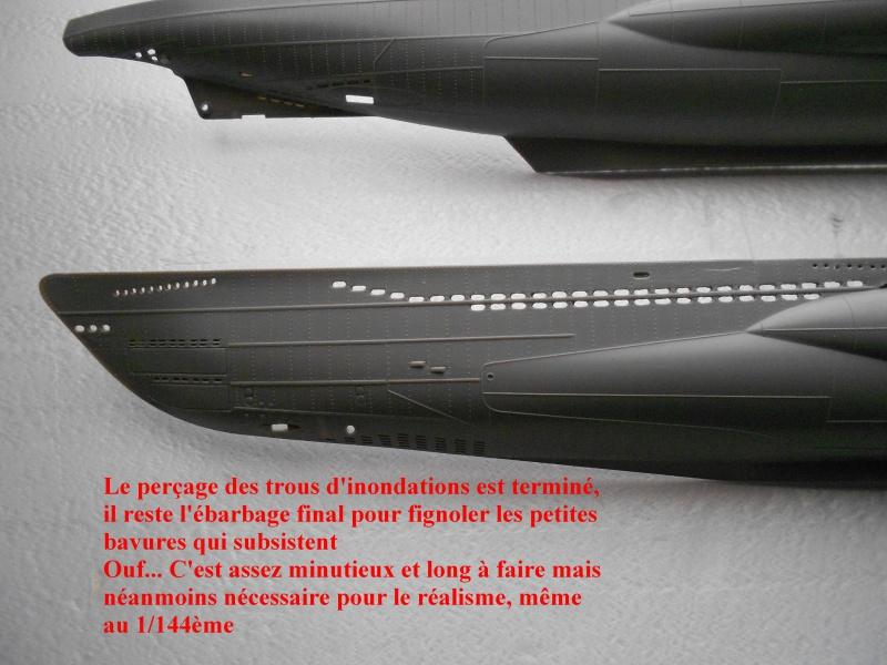 U-Boot type VII D Minenleger     Revell     1/144ème 228694DSCN1469