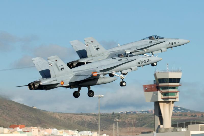 MCDONNELL-DOUGLAS F/A-18 HORNET  228779F_18_espagnols
