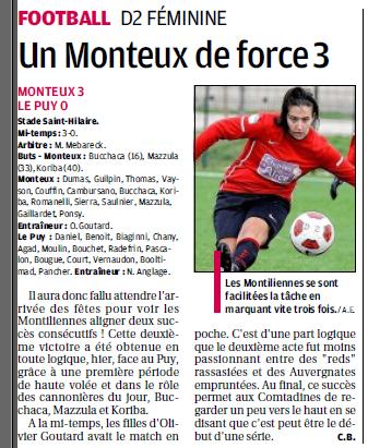 Football Club Féminin Monteux Vaucluse et Monteux foot seniors et jeunes  2341893020