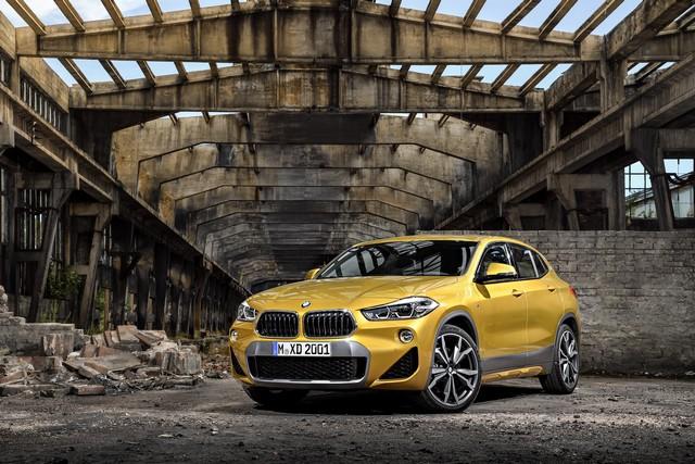 La nouvelle BMW X2 Silhouette élégante, dynamique exceptionnelle 234960P90278957highResthebrandnewbmwx2