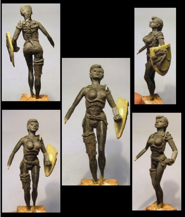 Dragon et Dragoniere (sculpture perso) 23496893ml