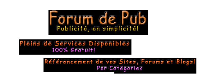 Forum de Pub [+1900] 235290PubFP