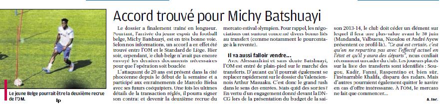 MICHY BATSHUAYI, LE BUFFLE DE BRUXELLES 241150928b