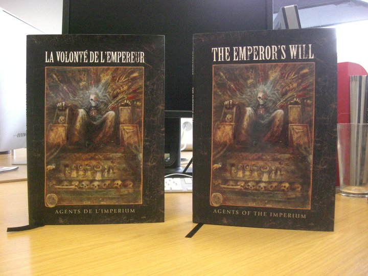 La Volonté de l'Empereur de John Blanche (Art Book) 245153Lavolontedelempereur
