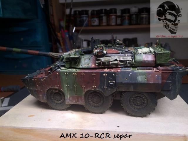 AMX 10 RCR SEPAR maquette Tiger Model 1/35 - Page 2 253159IMG3819