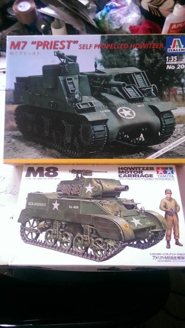 M7 PRIEST Italeri et M8 Howitzer Tamiya 1/35 253267canvas1