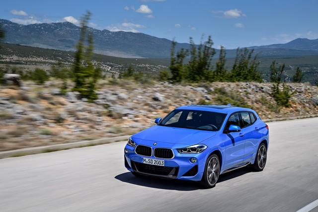 La nouvelle BMW X2 Silhouette élégante, dynamique exceptionnelle 255338P90278944highResthebrandnewbmwx2