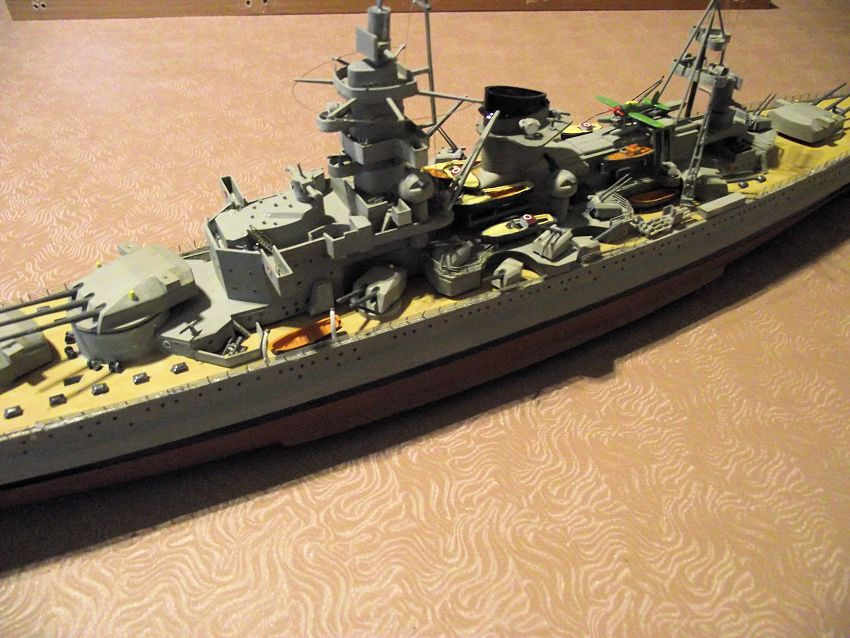 Croiseur de bataille Scharnhorst Heller au 1x400 255828Scharnhorst1x40026