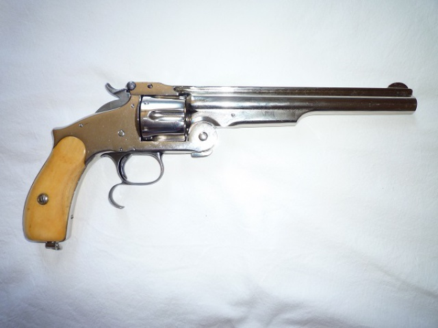 smith et wesson 44 russian n°3 third model 257389009a