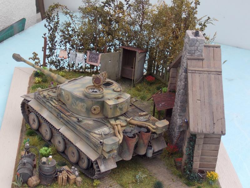 TIGRE S33  avant la bataille de Koursk juillet 43 (Dragon 1/35 dio DIODUMP) - Page 8 257852DSCN4712