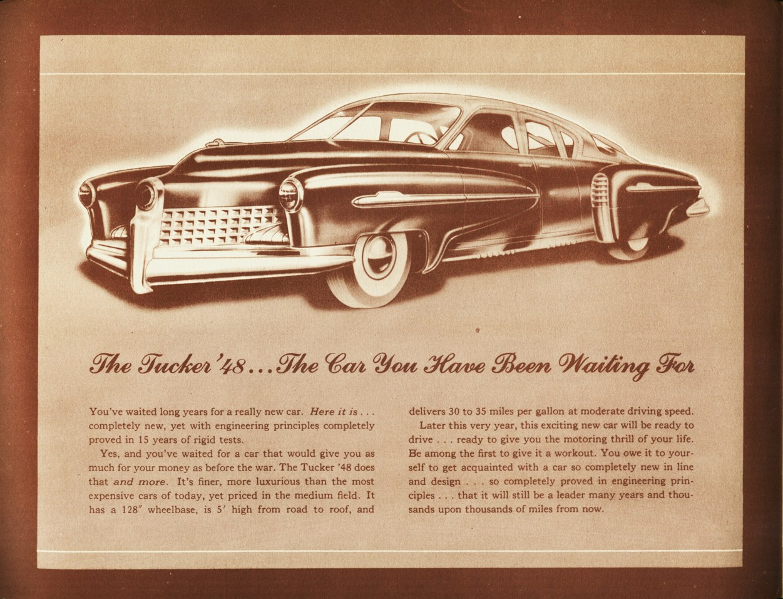 les archives, documents et photos d'époque sur la Tucker 1948 258459tuckerarchive0007
