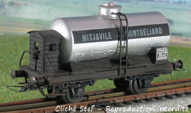 Wagons à 2 ess maquette citernes, foudres 259799VBCiterneMitjavilleguritegrisIMG4250R