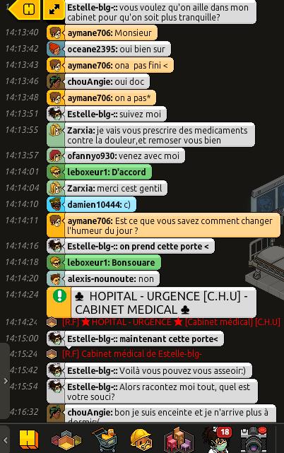 [C.H.U.] Rapport d'action RP de Estelle-blg-: - Infirmière - Page 5 260475Capturedcran3595