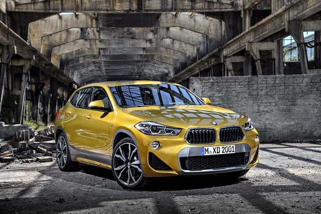 La nouvelle BMW X2 Silhouette élégante, dynamique exceptionnelle 261017P90278956highResthebrandnewbmwx2
