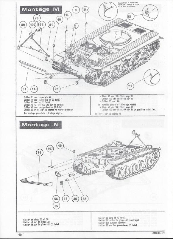 AMX 13 canon de 75 1/35ème Réf L 784 261125AMX1375784011Heller135