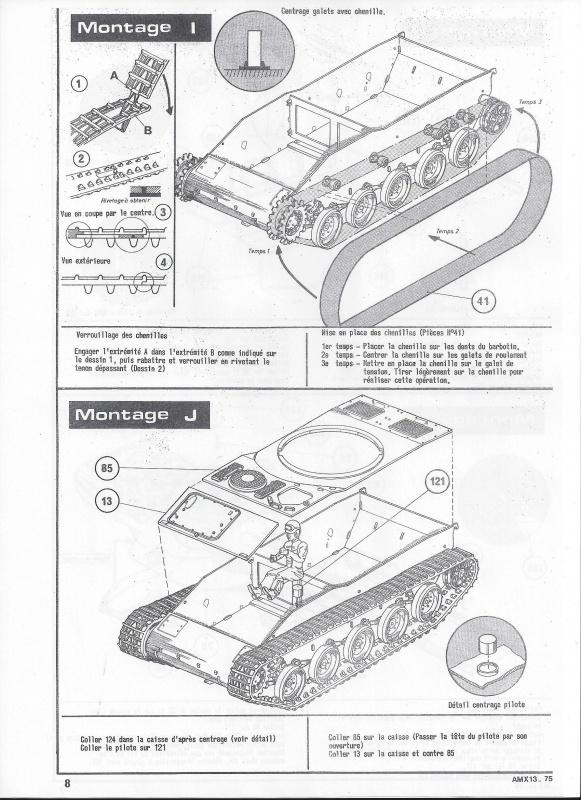 AMX 13 canon de 75 1/35ème Réf L 784 261513AMX1375784009Heller135