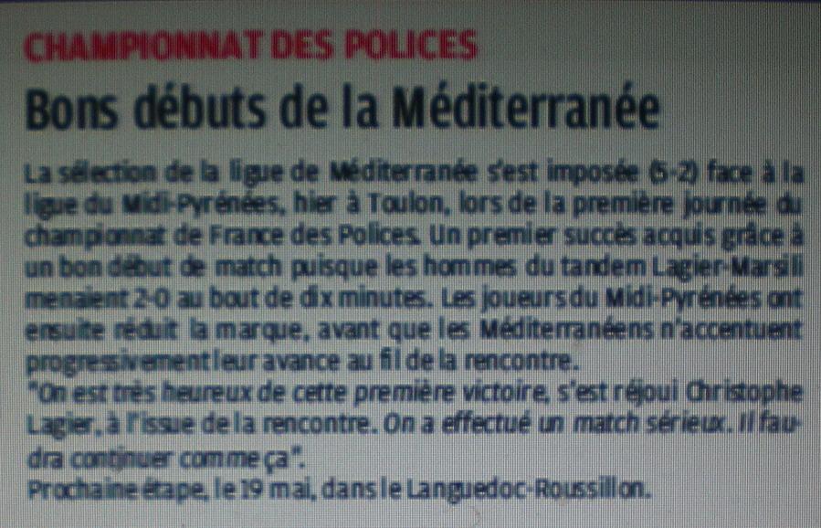 TOUTES SELECTIONS DE LA LIGUE MEDITERRANEE  - Page 2 261683Copie3deIMGP4911