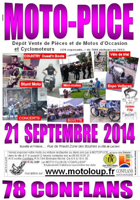 PUCES MOTO A CONFLANS(78) LE 21 09 2014 262404affiche2014