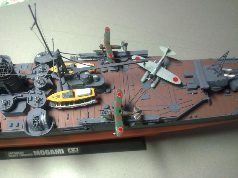 Croiseur lourd Mogami au 1/350 ème TAMIYA 263141190120111112