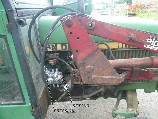 installation d'un distributeur hydraulique  265109P1040006