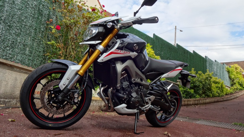 Photos de toutes les Yamaha MT-09 du forum ! :) 265491Ypacecar