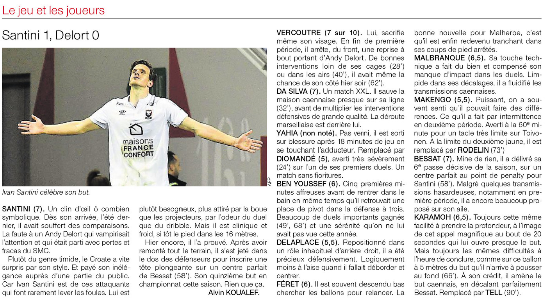 [36e journée de L1] Toulouse FC 0-1 SM Caen - Page 3 268343notes