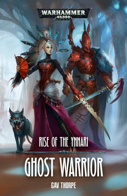 Rise of the Ynnari: Ghost Warrior de Gav Thorpe 268900BLPROCESSEDGhostWarriorcover