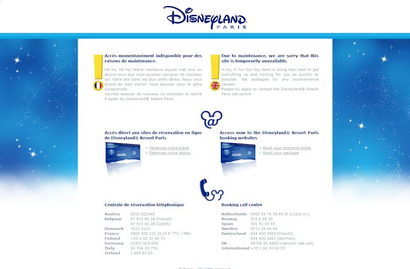 Un problème avec le site Disneyland paris ??? 270497Image2