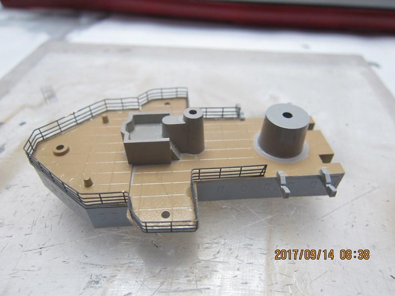Cuirassé Admiral SCHEER hELLER 1/400 270591IMG4849Copier