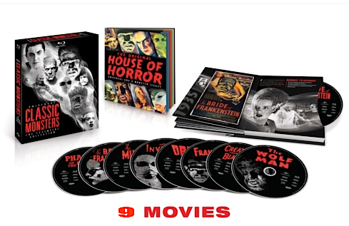 Universal Classic Monsters: The Essential Collection Blu-ray 270892universal