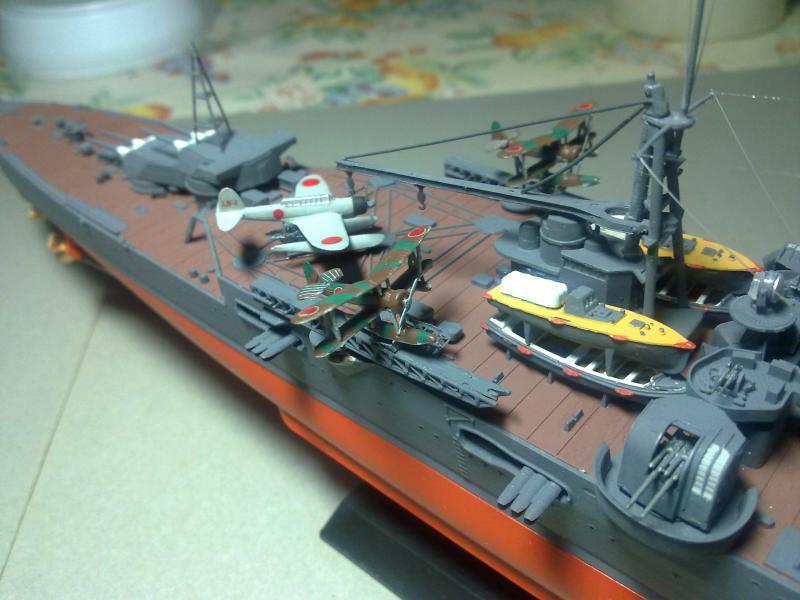 Croiseur lourd Mogami au 1/350 ème TAMIYA 274040190120111125