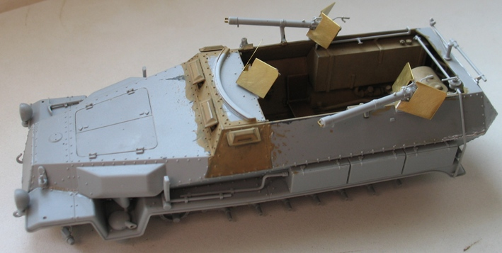 sd.kfz 251/16 flammpanzerwagen  Dragon 1/35 - Page 3 275240modles110019