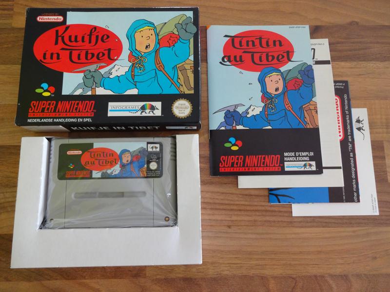 Prupru's Collection ! 100% Super Nintendo et 200% Super Comboy !! - Page 18 276781KuifjeinTibetEUR