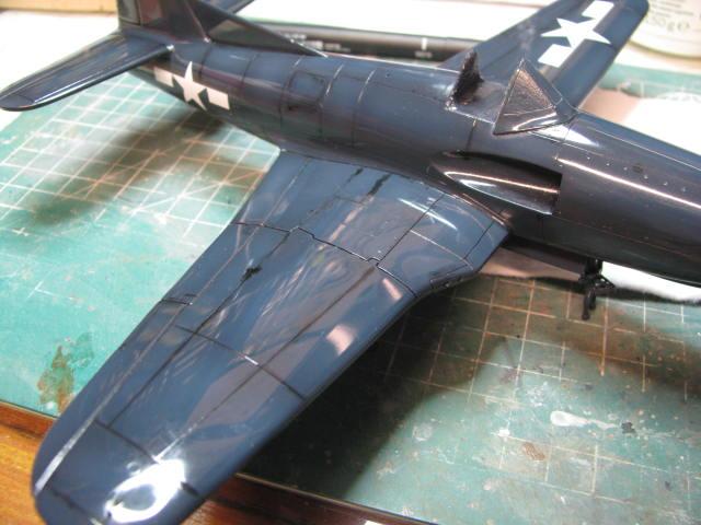Ryan XF2R-1 Dark Shark Czech Model 1/48.....Terminé! - Page 4 278990IMG1302