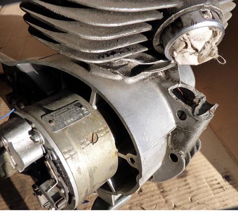 MZ 125 TS changement de roulements d'une MZ 125TS 279899P1030126