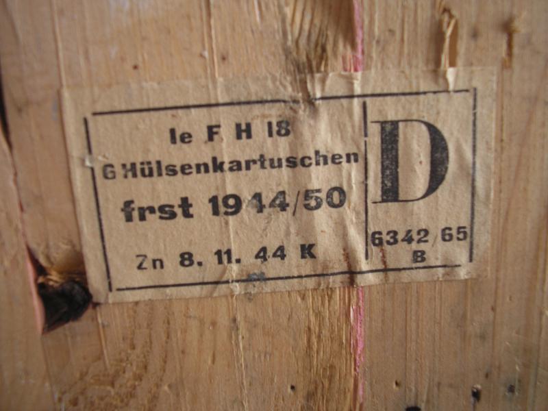 caisse leichtes Feldhaubitze 18. 281366P1012075JPG