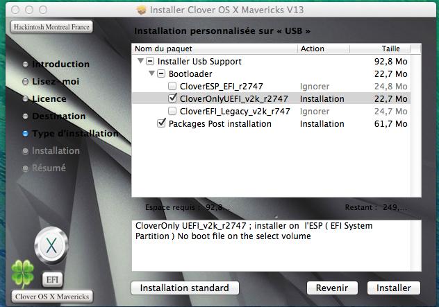 Clover OS X Mavericks V13  281393Sanstitre001