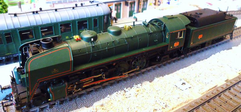 Loco vapeur 141 Jouef 3 rails AC d'origine 281394DSC02376