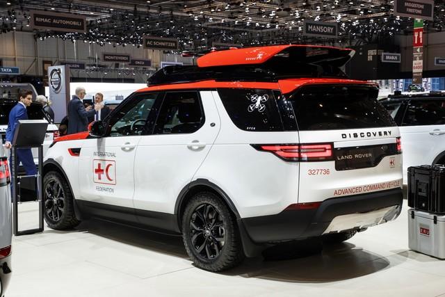Project Hero, une version unique du nouveau Land Rover Discovery pour la Croix Rouge autrichienne  284987lrnewdiscoveryprojecthero0702174